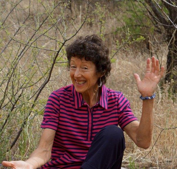 Image : Nancy being goofy