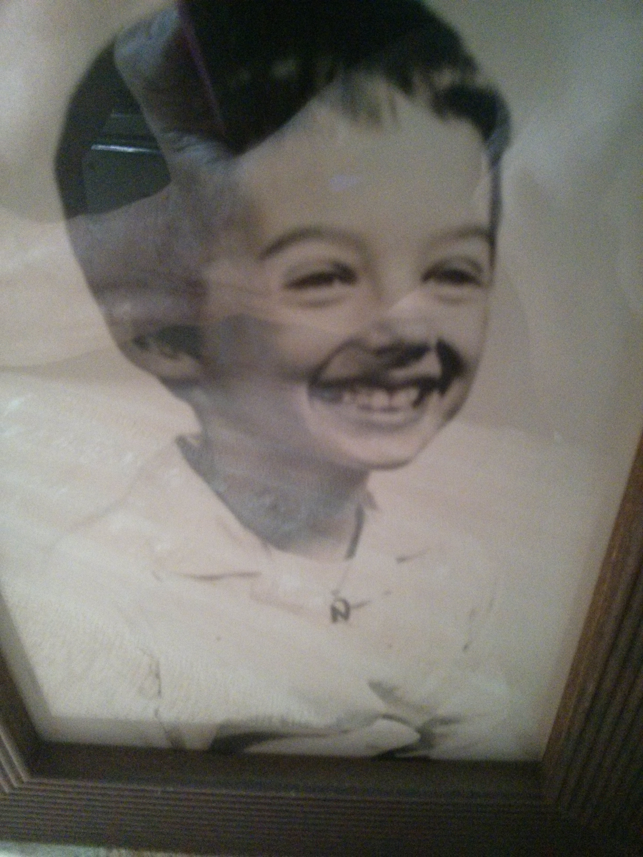 me as a small child