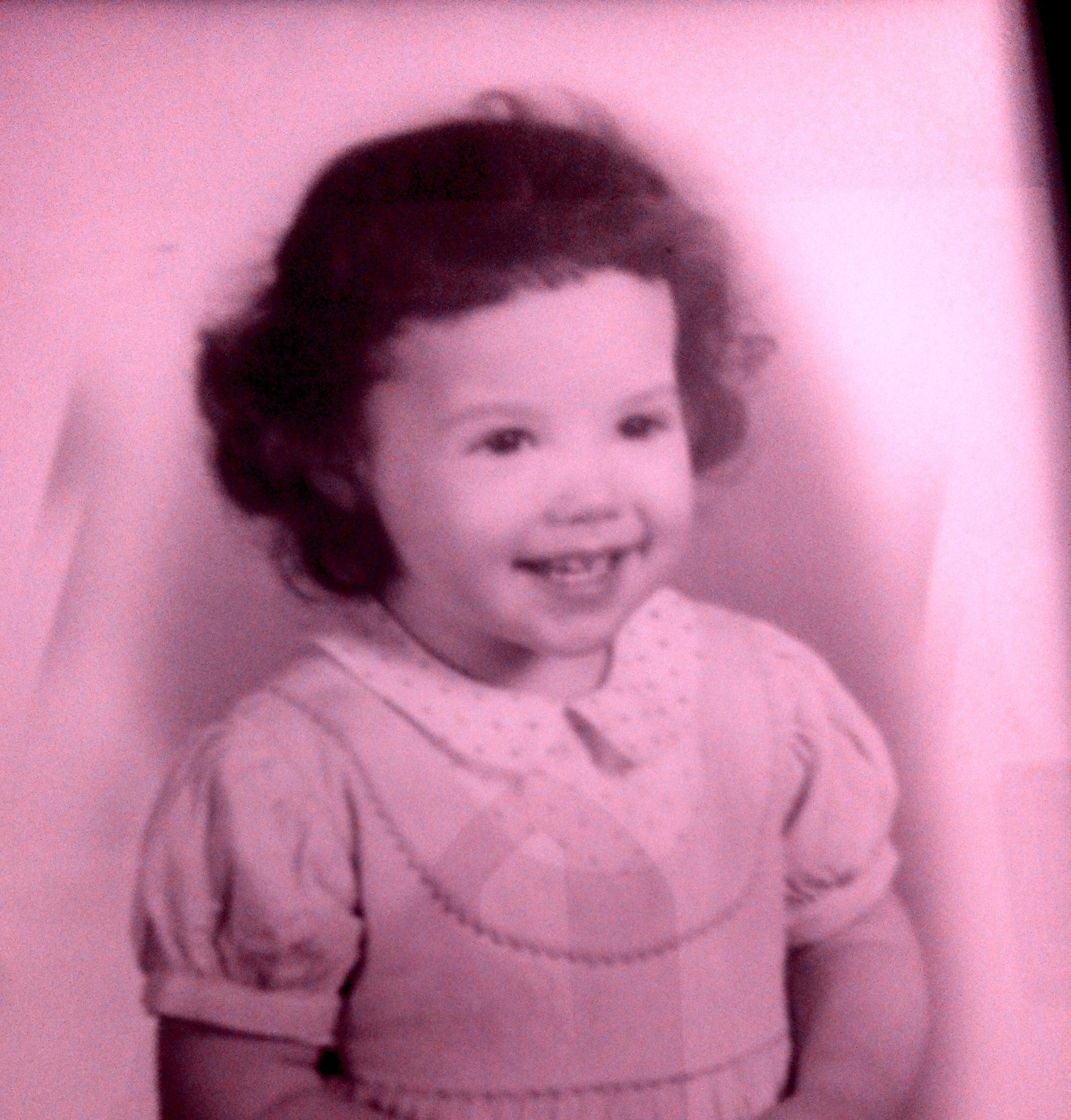 Image : Nancy as a child