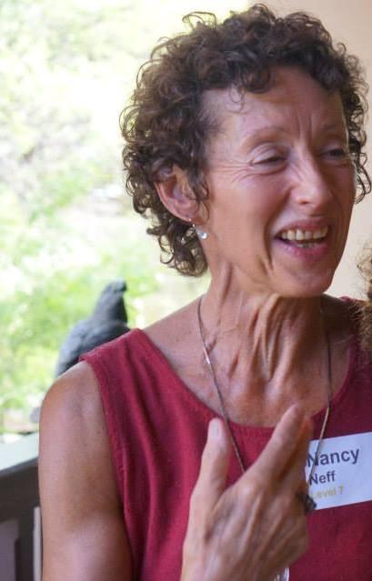 Image : Nancy laughing