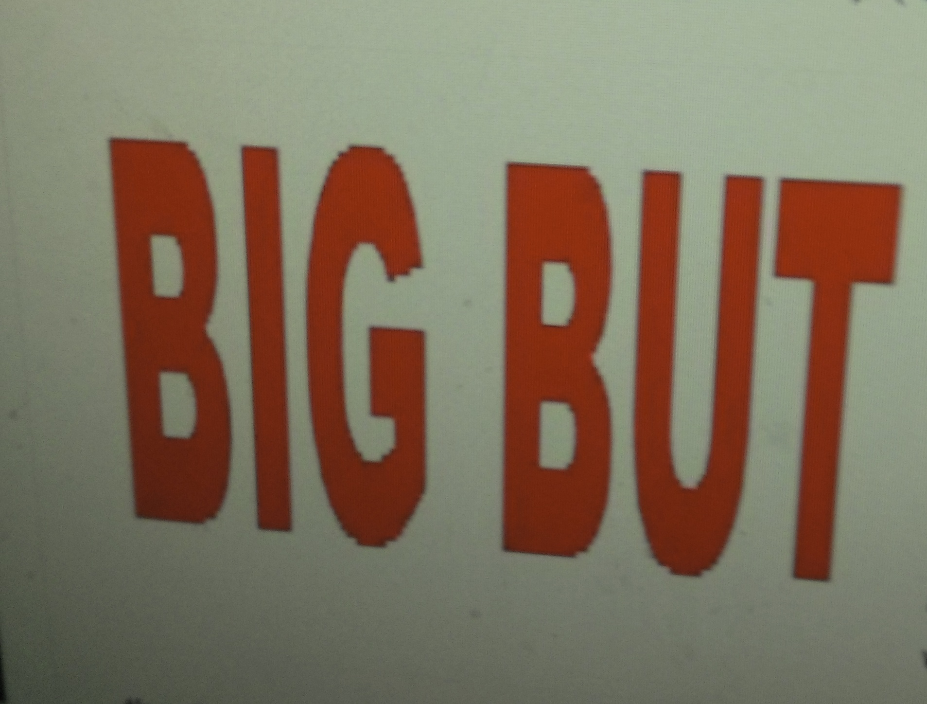 big but words