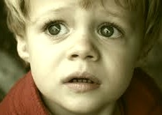 fearful child