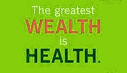 health is wealth image