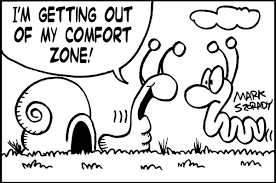 leaving comfort zone cartoon