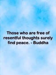 Buddha resentment quote