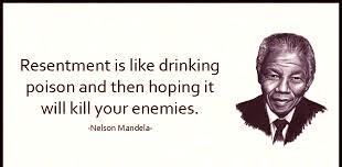 Nelson Mandela resentment quote
