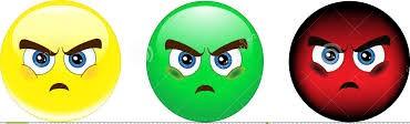 resentful cartoon faces