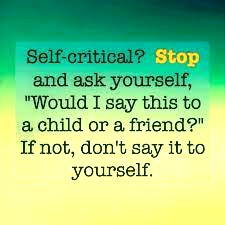 self-criticism quote